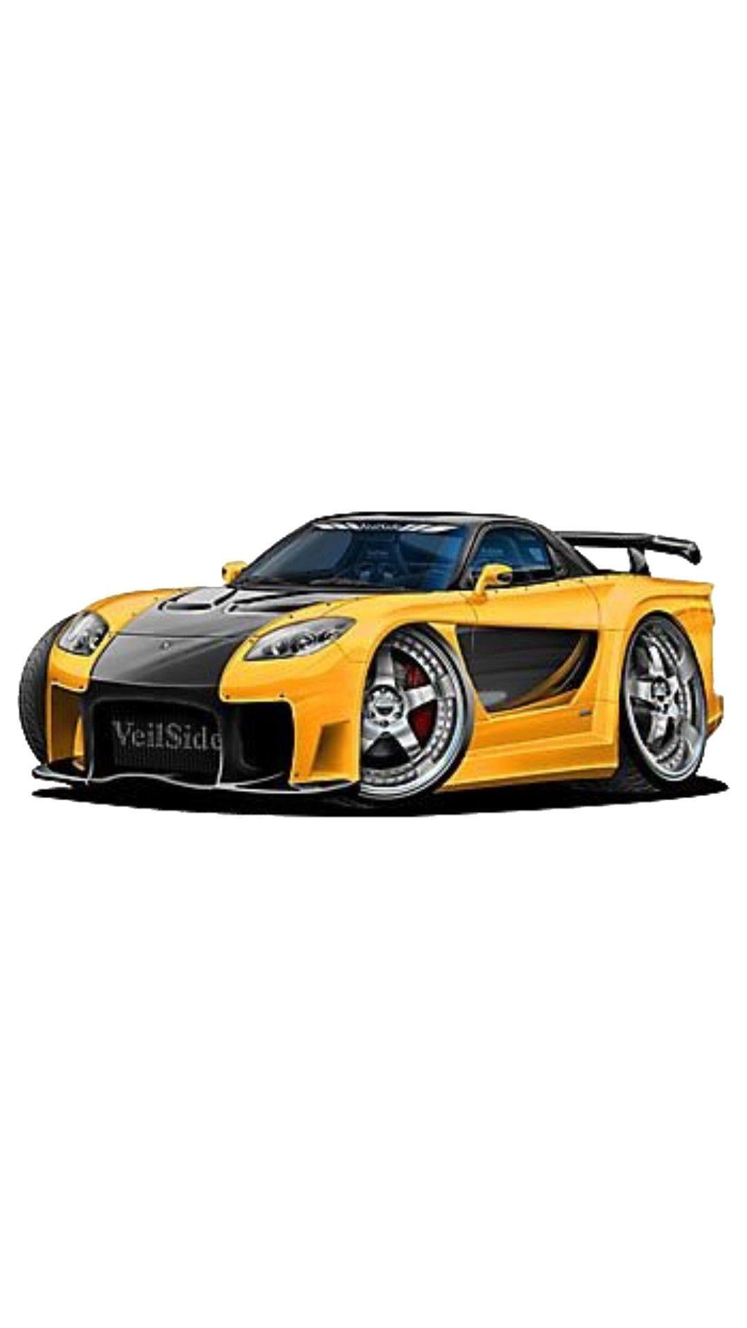 Modifiedcarart In 2020 Car Collection Car Cartoon Automotive Art