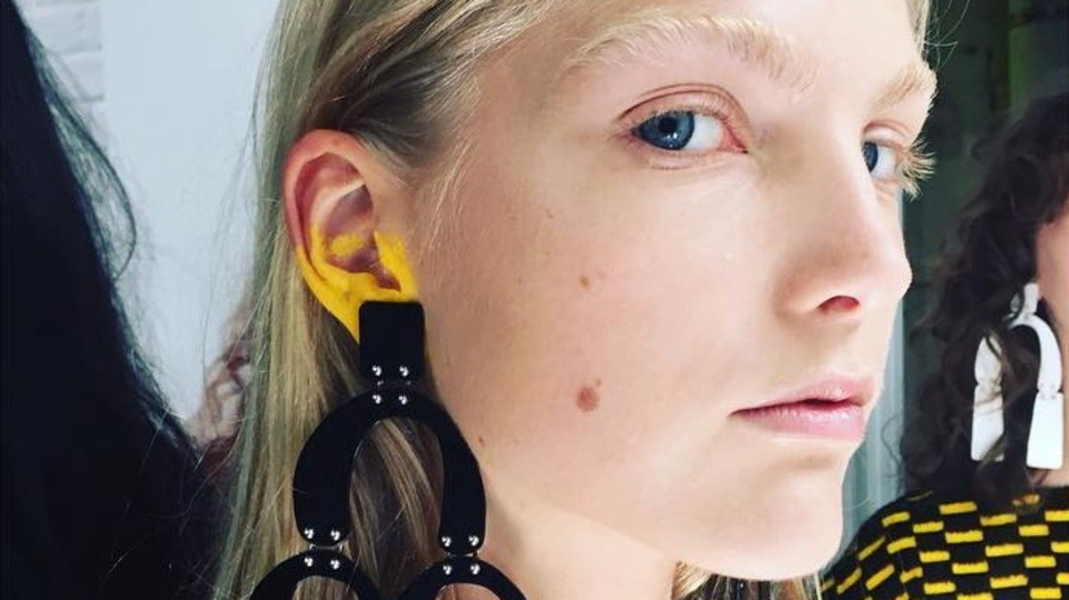 Ear Makeup is Still Going Strong According to Proenza Schouler