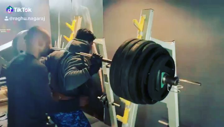 200kgs squats... our very own beast Mr. Imran...get your legs trained by the beast Imran
