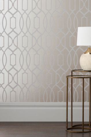 Best Champagne Surface Print Lattice Geo Wallpaper Champagne 400 x 300