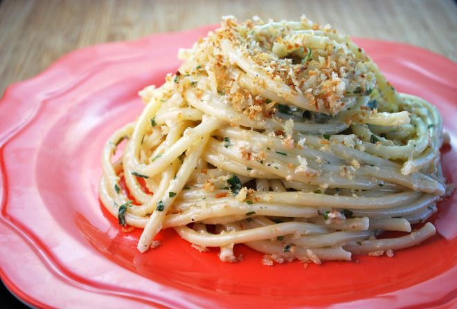 Bucatini Taragon Cream Sauce