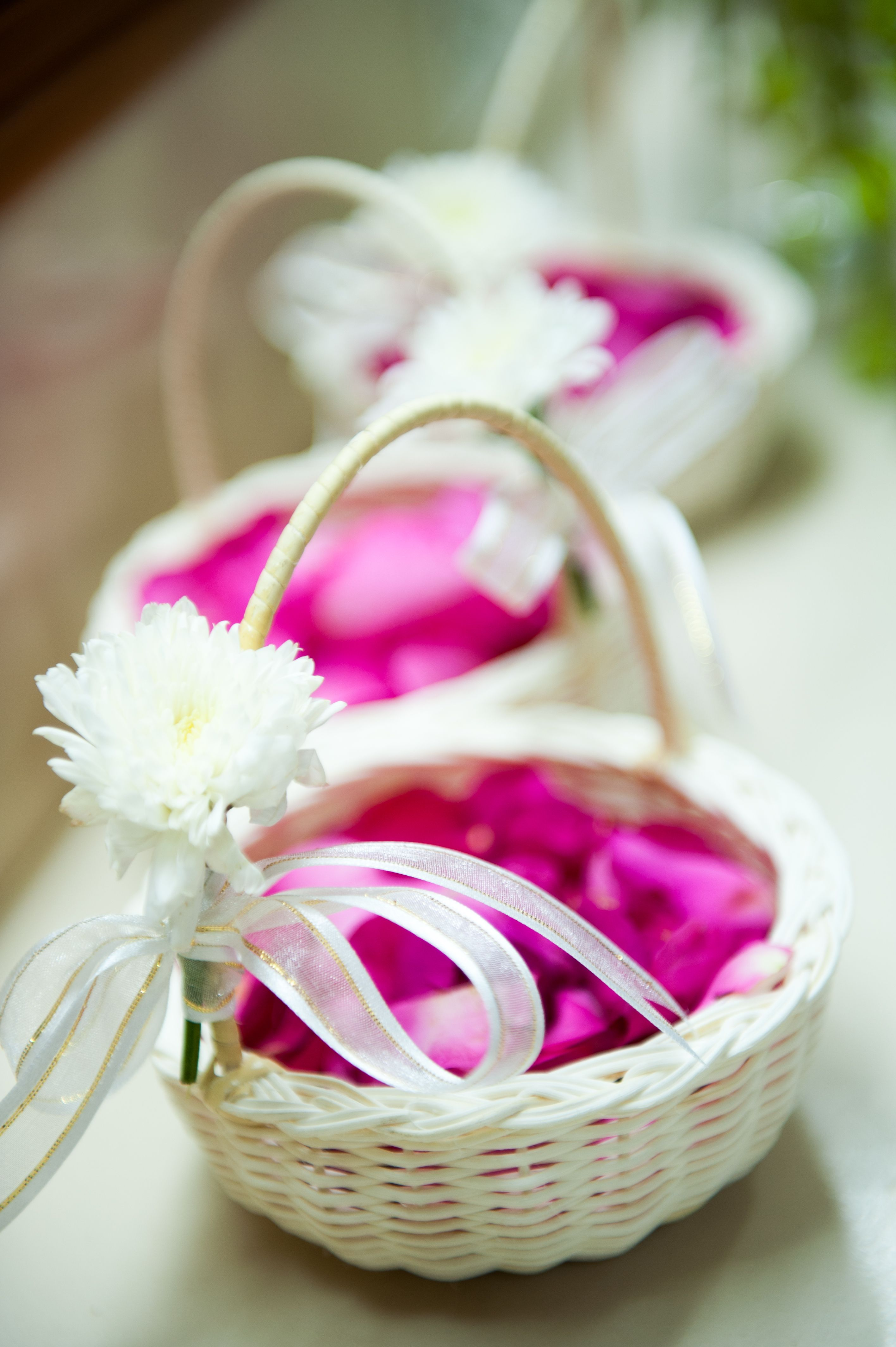 Baskets at the ready. Beach wedding Thailand. | Flower girls, page ...