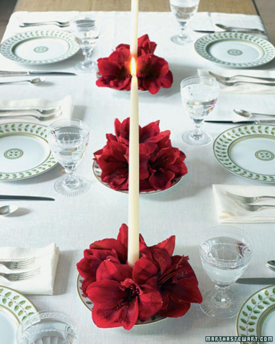 Christmas Table Settings by Martha Stewart | Christmas gift ideas ...