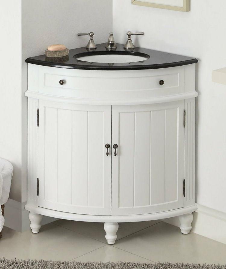 im kleinen bad sparen eckschr nke platz unbedingt kaufen pinterest eckschrank kleine. Black Bedroom Furniture Sets. Home Design Ideas