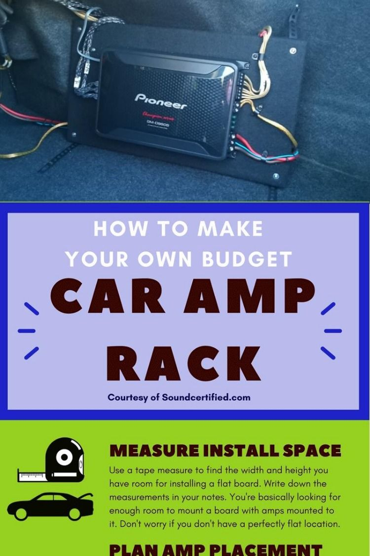 how do i hook up an amp in my car