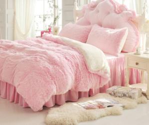 Princess Fluffy Bed Sets Bedding Sets Cute Bed Sets Fluffy Bedding