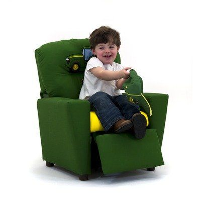 John Deer Childs Recliner Chair Reclining Kids Redneck