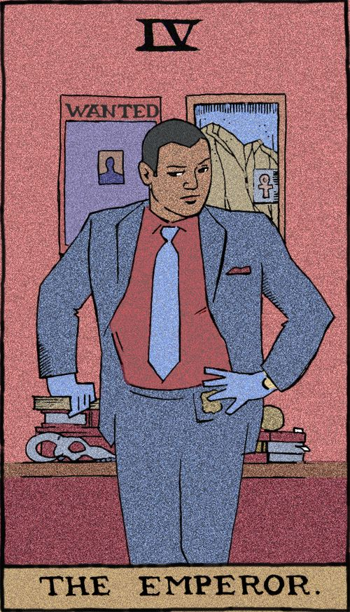 """Tarot Cards Using Characters From NBC's """"Hannibal"""