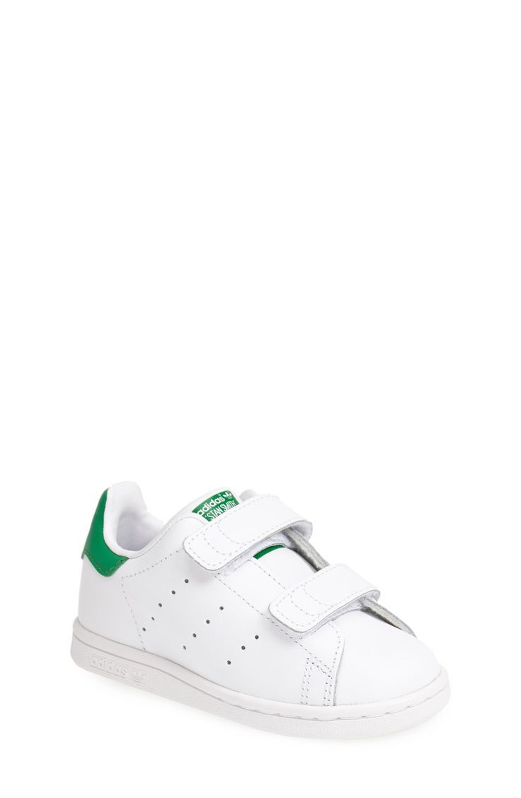hot sale online 2a918 3c65c adidas  Stan Smith  Leather Sneaker (Baby, Walker   Toddler)