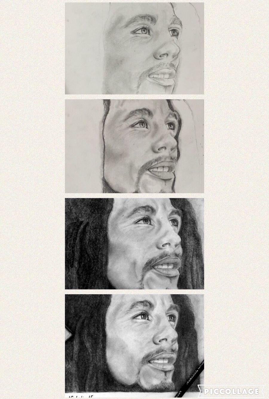 Bob Marley Art Music Pencil Black And White Drawing Singer Bob Marley Art Bob Marley Painting Black And White Drawing