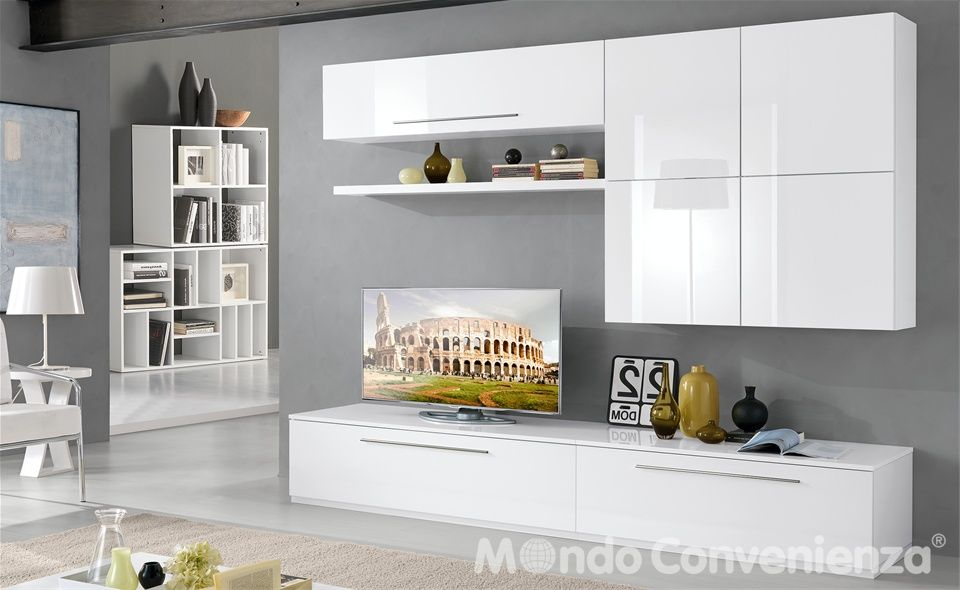 Soggiorno s 274 mondo convenienza home pinterest for Scaffali mondo convenienza