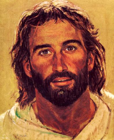 Jesus painting by R. Hook