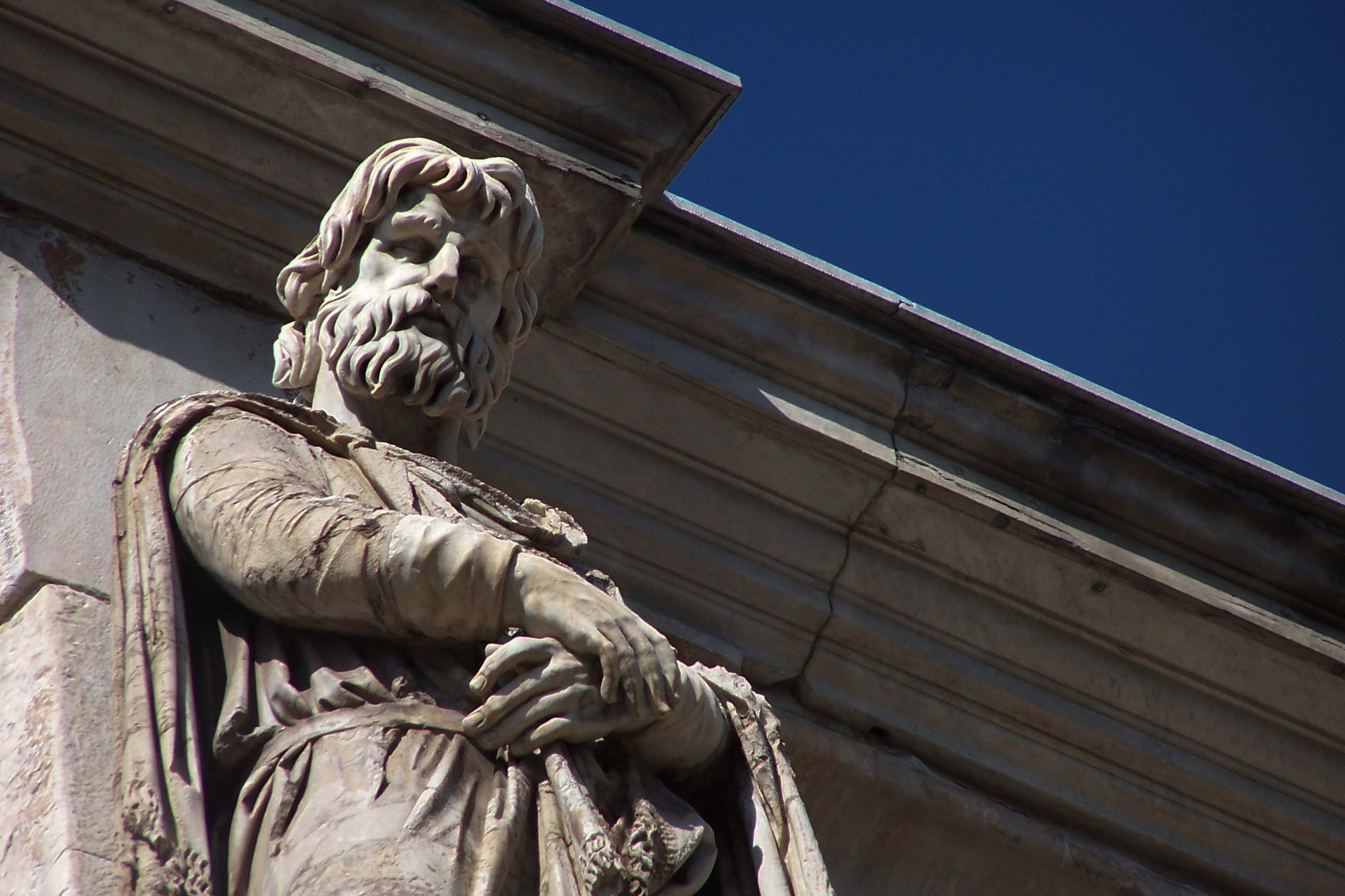 Detail of Arch of Constantine  by Vicki Stafford