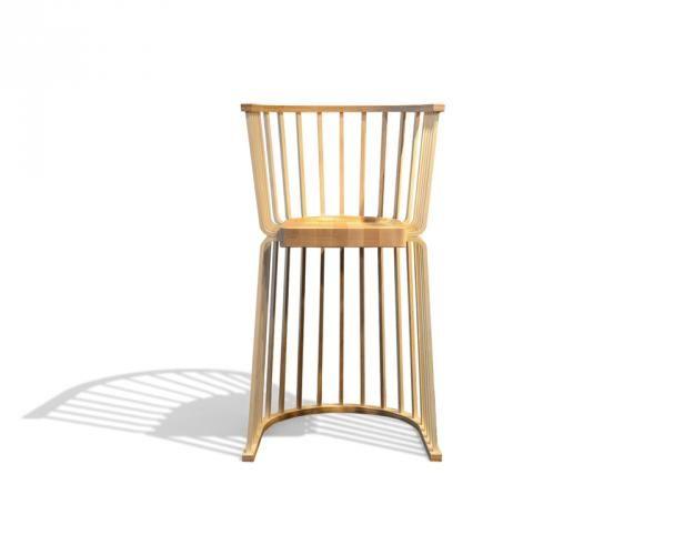 Upside Down Chair By Elise Luttik In 2020 Chair Wooden Chair Scandinavian Modern