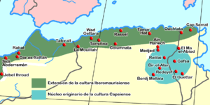 Capsian Culture Wikipedia The Free Encyclopedia Culture Historical Maps Family Genealogy
