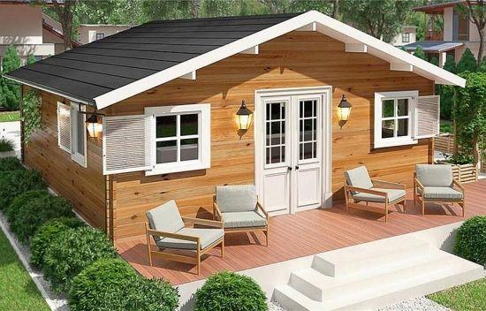 Modele Si Proiecte De Case Mici Din Lemn Sunt Atat De Frumoase Ca Si Casute De Vacanta Cottage Home Garden House