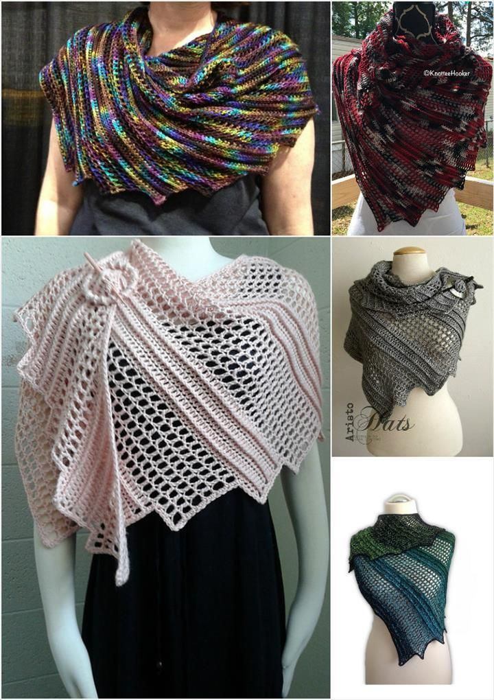 10 Free Crochet Shawl Patterns For Womens Crochet Pinterest