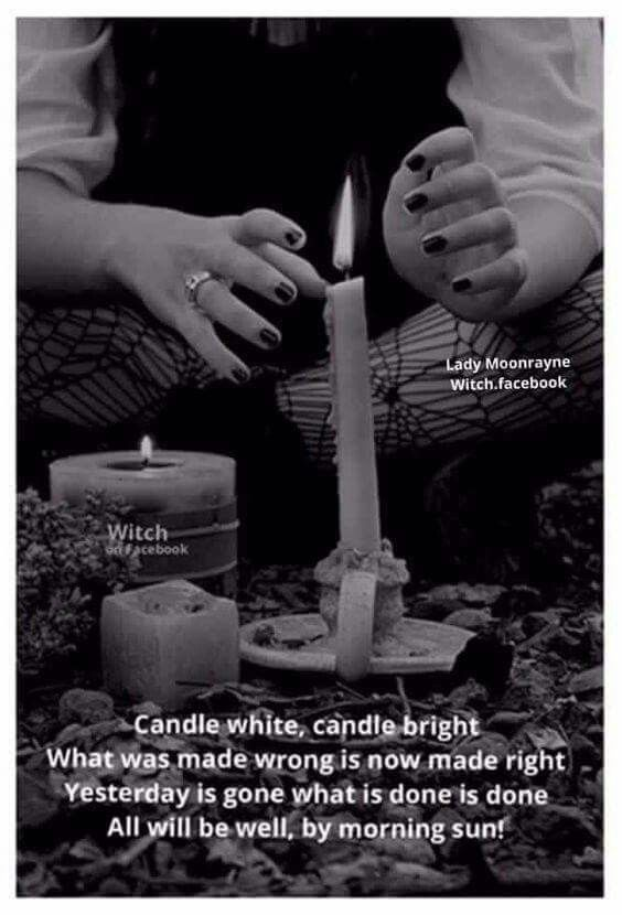 Candle white light ritual zodiacs occult superstitions candle white light ritual fandeluxe Image collections
