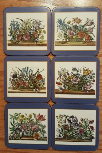 6 vintage #pimpernel coasters floral array #series made in #england,  View more on the LINK: 	http://www.zeppy.io/product/gb/2/222201577548/