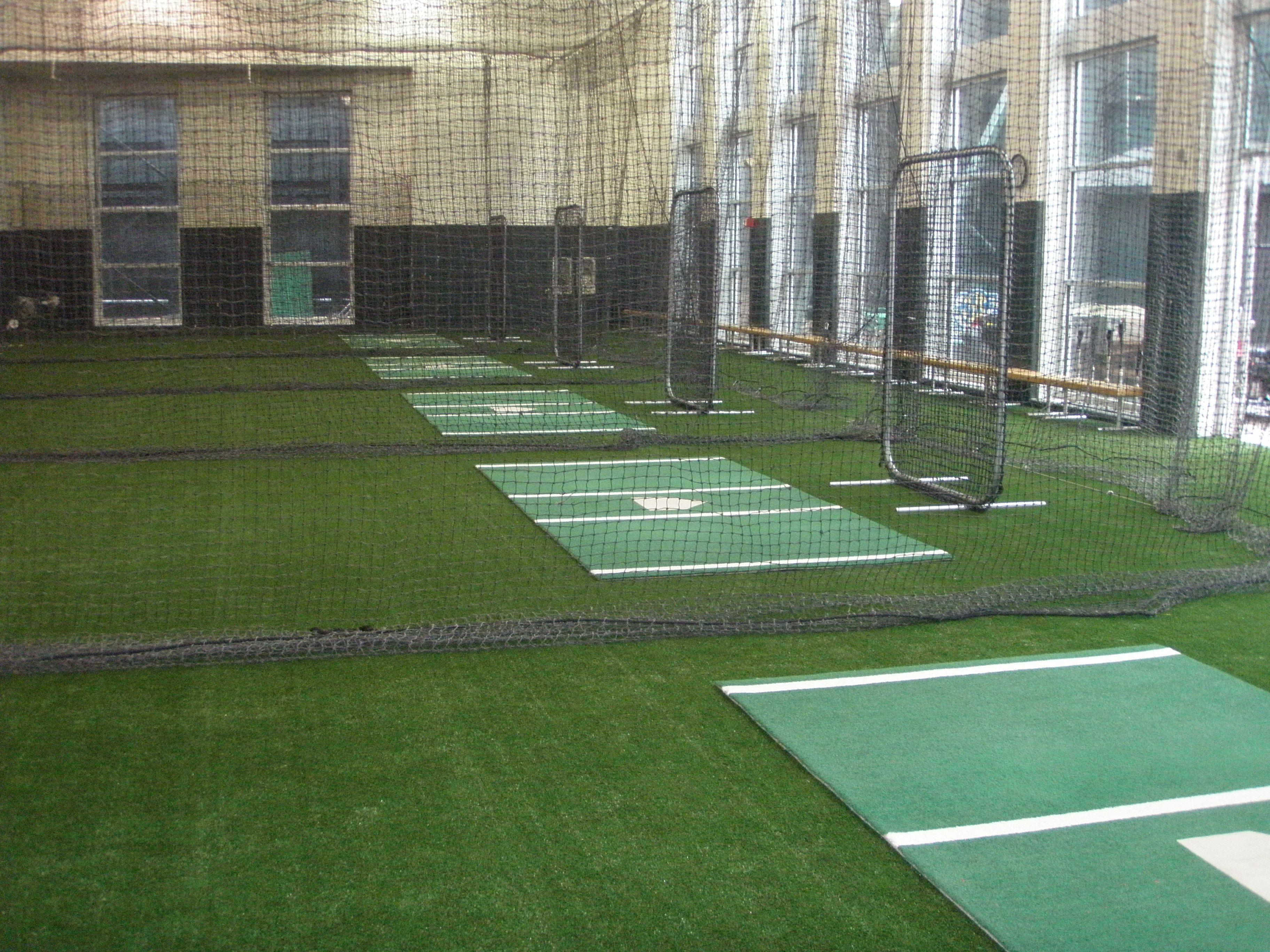amazing indoor baseball facility by kodiak sports batting cages
