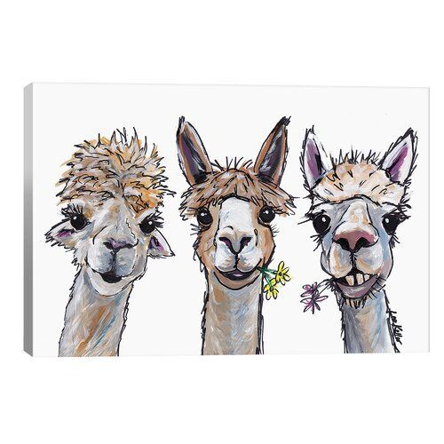 Brayden Studio Leinwandbild Alpacas Trio II von Hippie Hound Studios   Wayfair.de,  #Alpacas #Brayden #Hippie #Hound #Leinwandbild #Studio #Studios #Trio #von #Wayfairde,  #DiyAbschnitt, Diy Abschnitt,