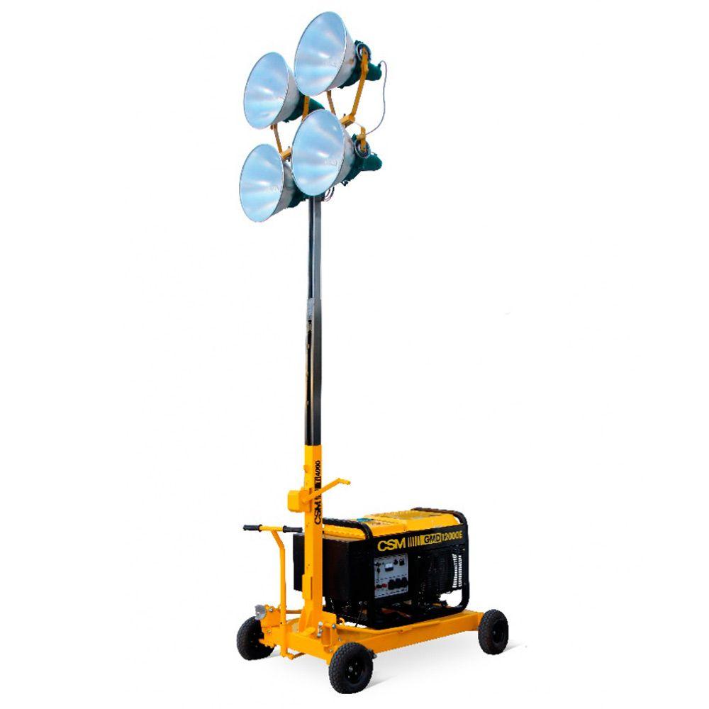 Torre de Iluminação 1000W sem Gerador | CSM TI 4000 | http://www ...