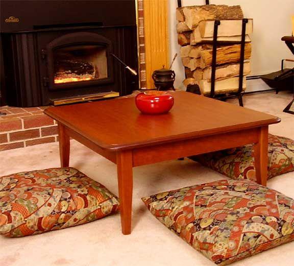 Zabutons Surround A J Life Kotatsu Table Japanese Home Design