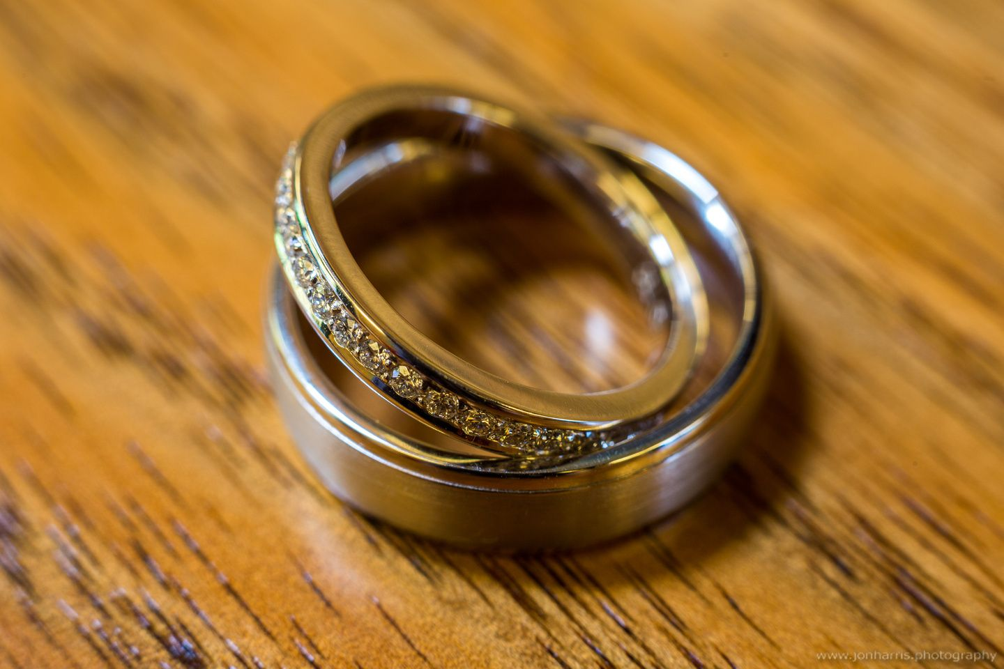 These wedding rings are pretty gorgeous! See more at www.jonharris.photography/weddings