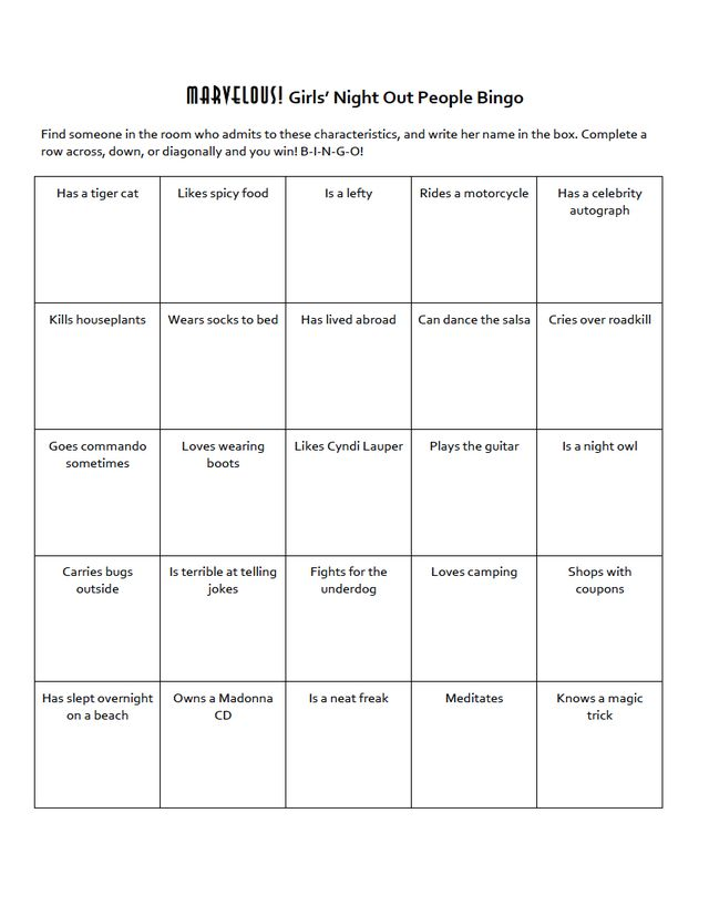 people bingo game instructions cards ideas how to make people bingo cards