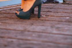 Shoes on brighton pier