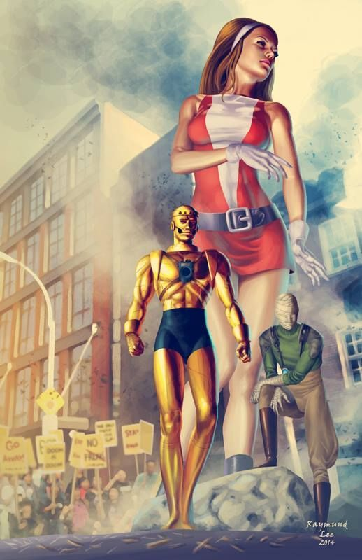 Marvel Power Girl Wallpaper Doom Patrol By Raymund Lee Raymundlee Doompatrol