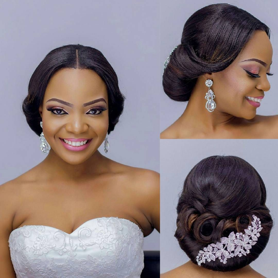 Coiffure Mariage 92 Centre Part Game Cute Accessories From Myvelvetboxng On