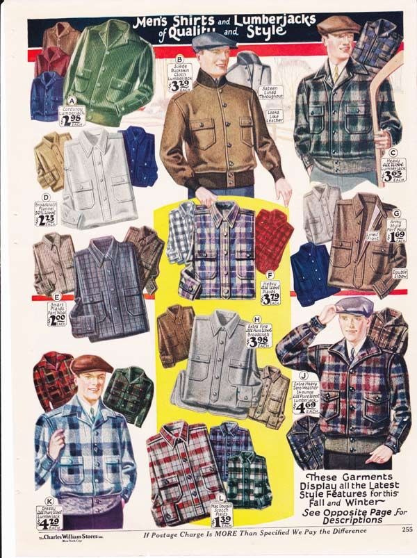 Fashion In The 1920s Clothing Styles Trends Pictures History Vintage Clothing Men Mens Flannel Shirt 1920s Mens Fashion