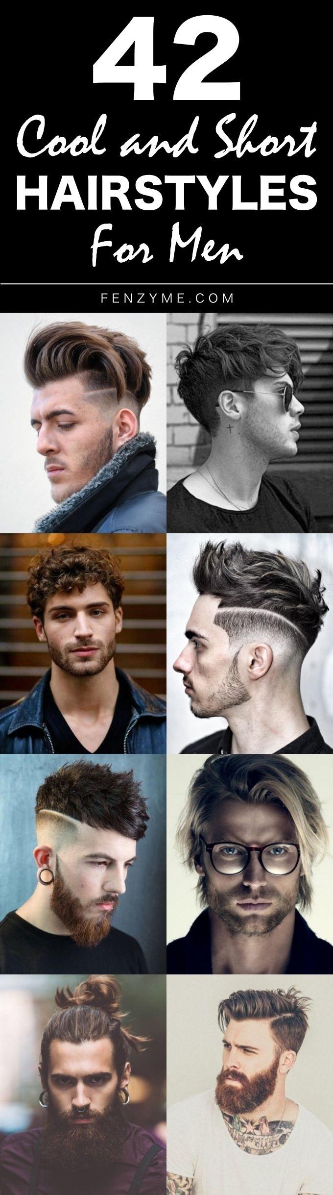 Mens short haircuts 2018  cool and short hairstyles for men   menus fashion