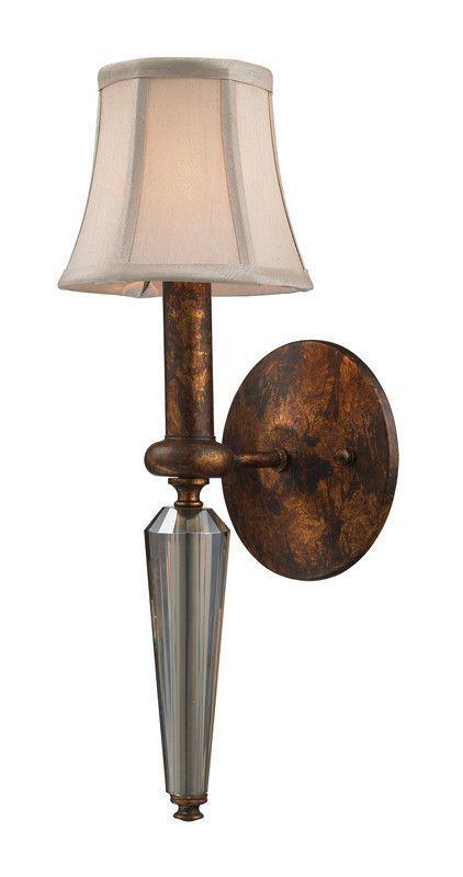 ELK Lighting Crestview 1- Light Wall Sconce In Spanish Bronze - 11330/1