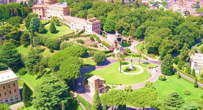 Gardens Of Vatican Vatikanische Garten Garten Vatikanstadt