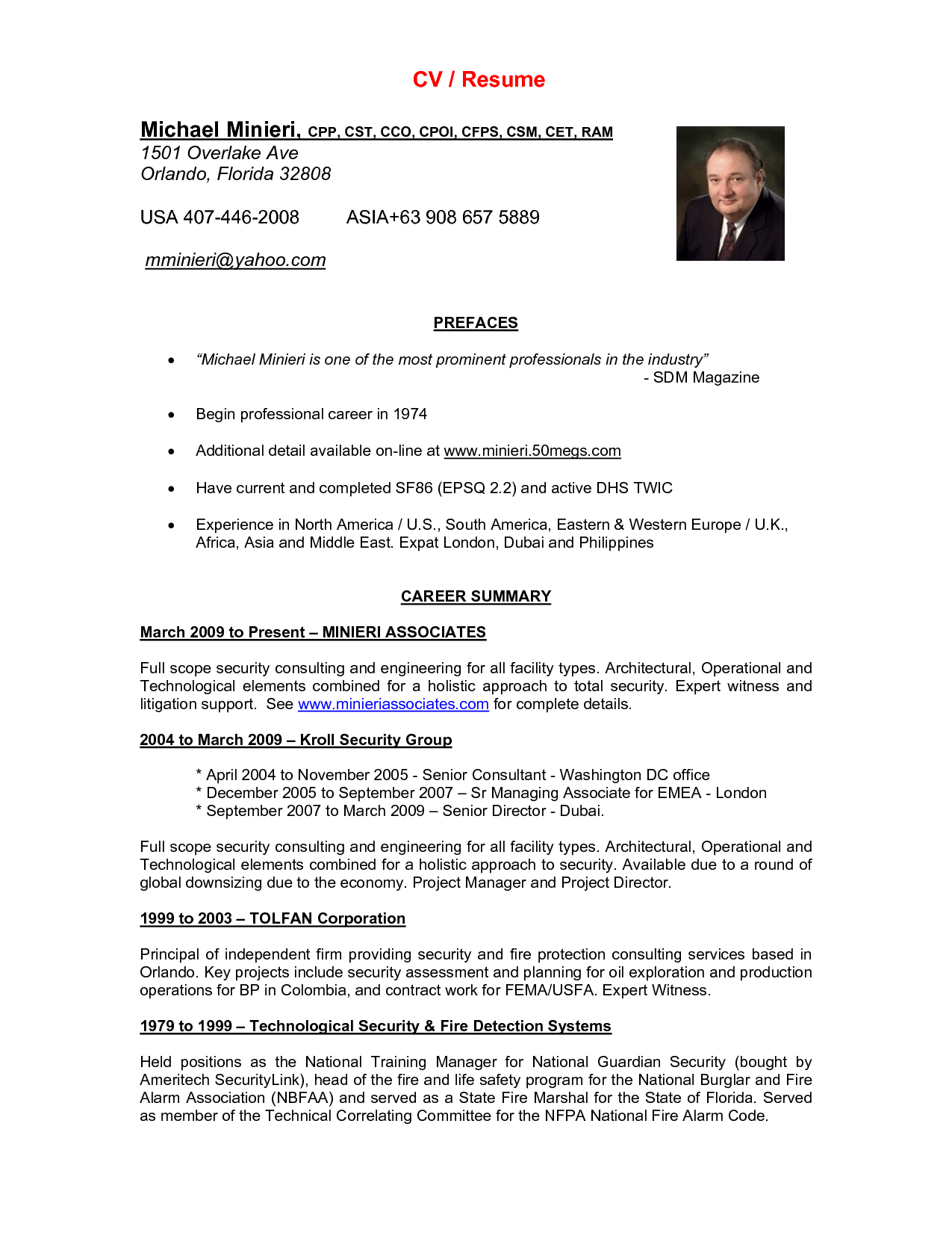download sample resumes curriculum vitae cv and cover letter for ...