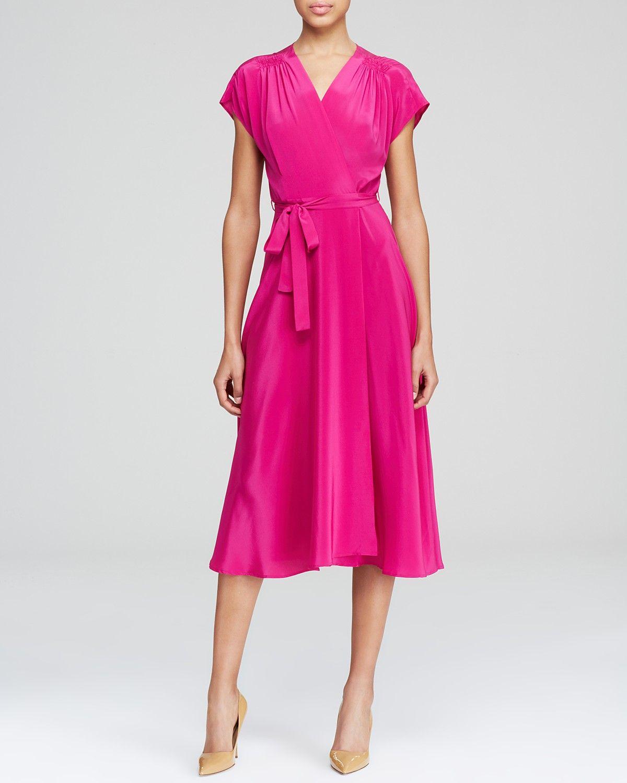 Moon & Meadow Silk Wrap Dress | Bloomingdale\'s | Bridesmaid 2015 ...