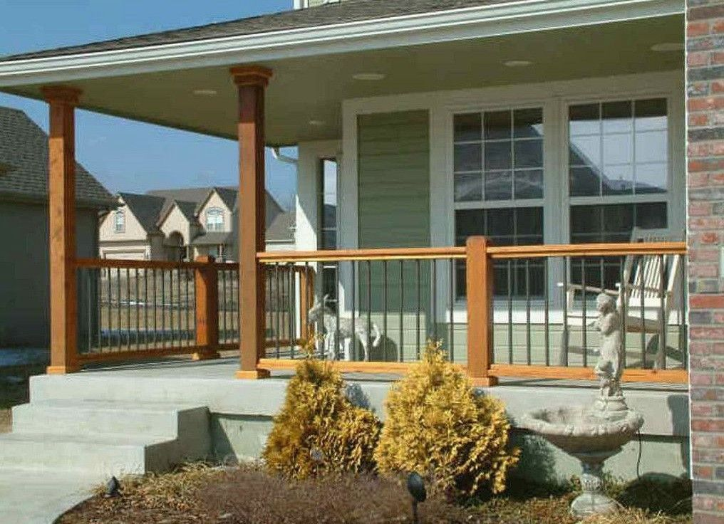 20 Amazing Front Porch Ideas You Must Try In 2018 Porch Railing Designs Porch Design House Front Porch