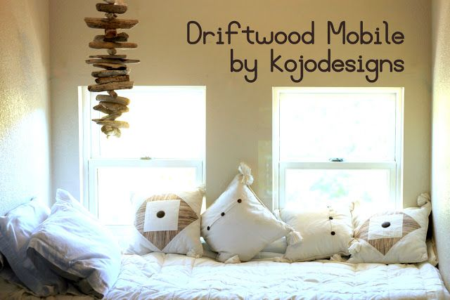 how to make a driftwood mobile – kojodesigns