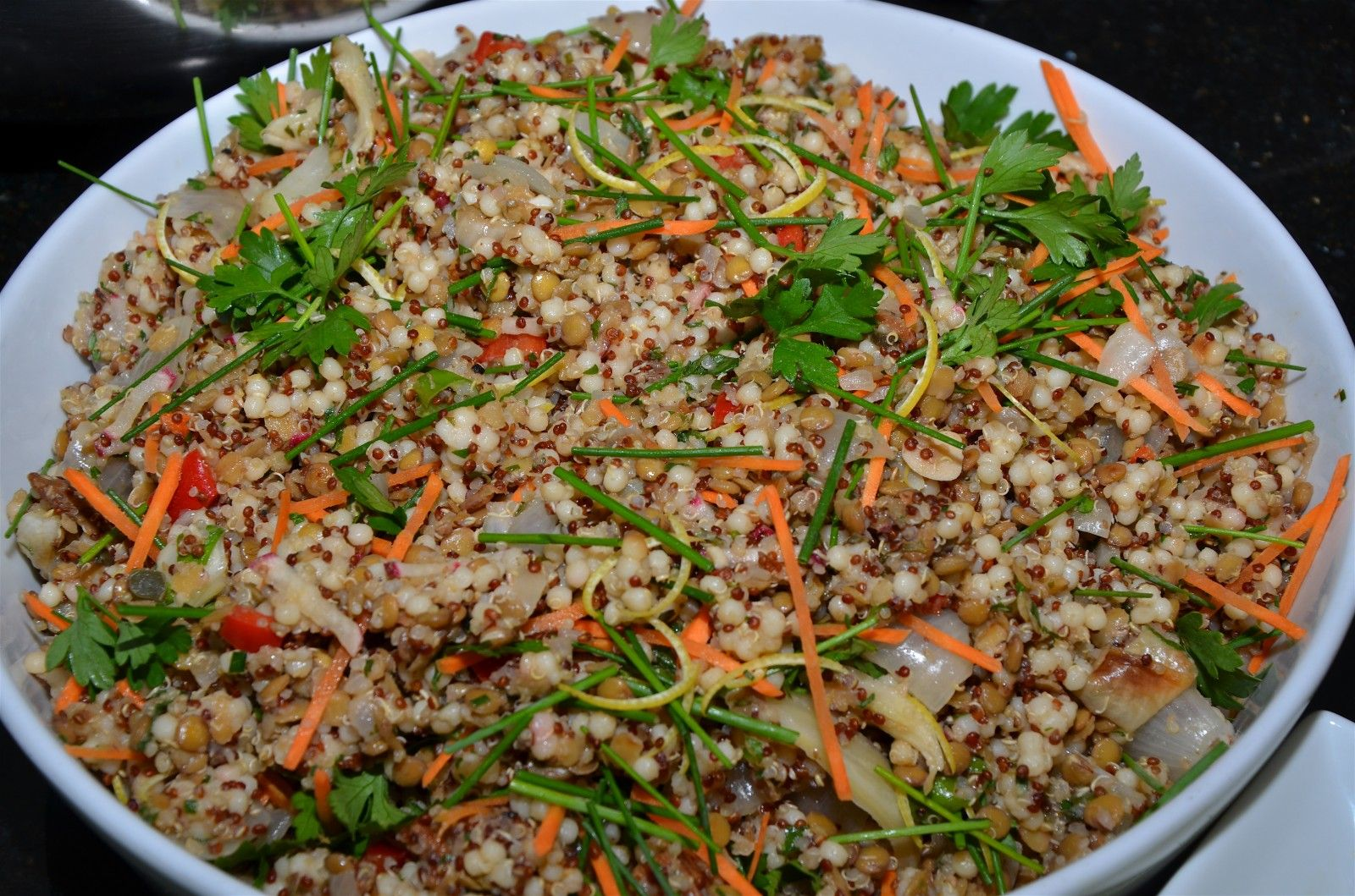 Quinoa and Israeli Couscous Salad