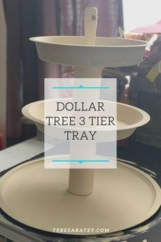 , Dollar Tree 3 Tier Tray, Crafts To Sell Blog, Crafts To Sell Blog