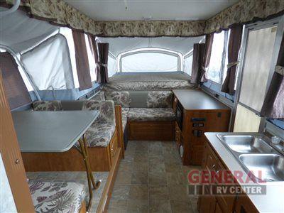 Used 2005 Fleetwood Rv Highlander Niagara Folding Pop Up Camper At