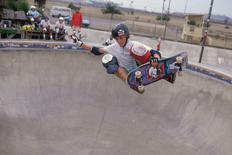 What's this guy doing skateboarding? Making millions
