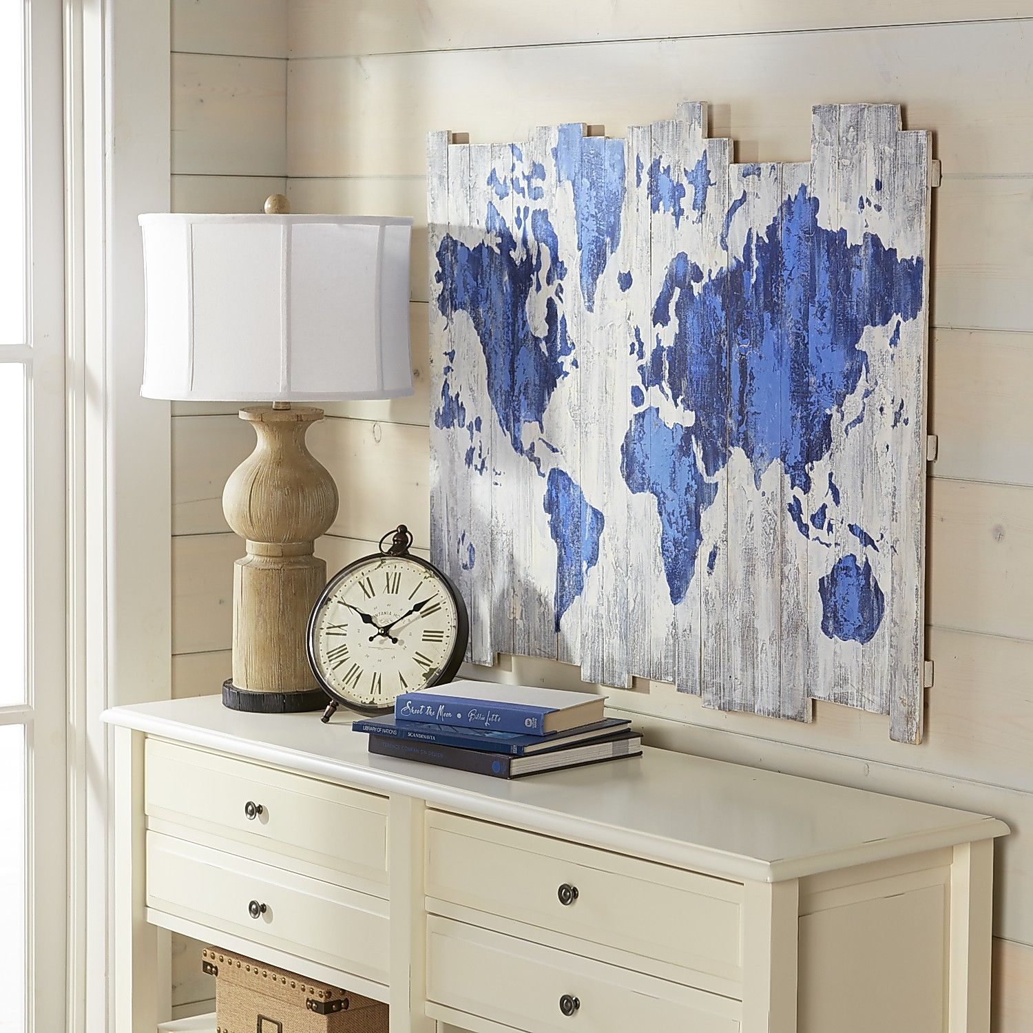 World map on wood planks pier 1 imports diy pinterest wood world map on wood planks pier 1 imports gumiabroncs Images