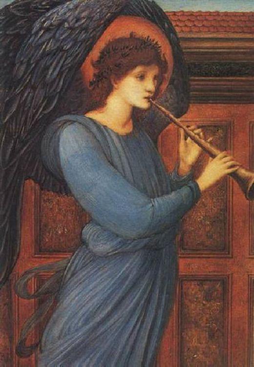 O Anjo de Sir Edward Burne-Jones, 1881