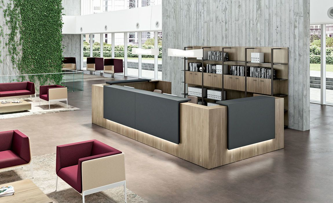 Reception Desks Contemporary And Modern Office Furniture Reception Desk Design Reception Desk Office Front Desk Design