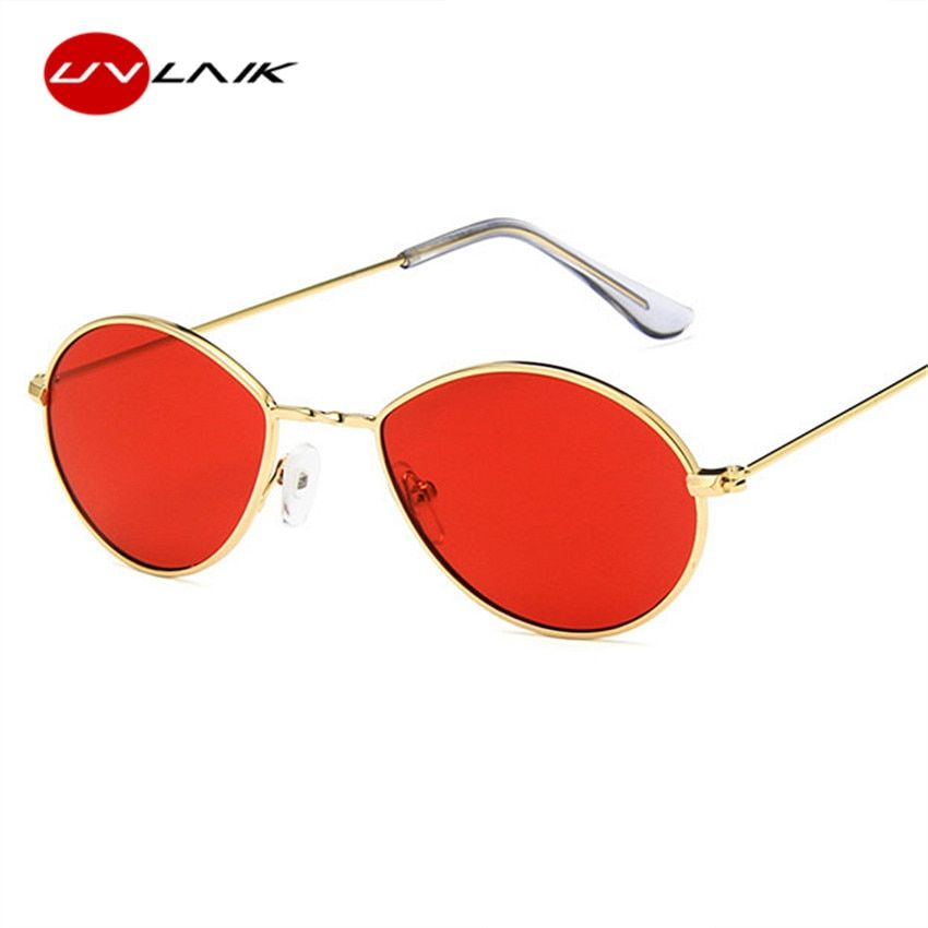 e1c7500ffbf5 UVLAIK Women Sun Glasses Small Round Sunglasses Retro Metal For Ladies  Brand Designer UV400 Glasses
