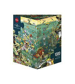 Puzzle 1000 CARTOON (τρίγωνο κουτί) Calligaro - Στο Βυθό