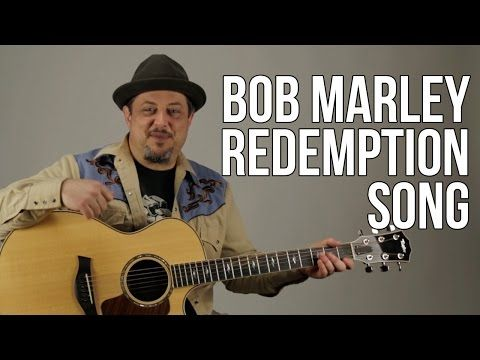 Redemption Song - Acoustic Guitar Lesson - Bob Marley - How